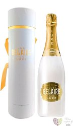 """Luc Belaire blanc """" Luxe """" demi sec ice style wine gift tube  0.75 l"""