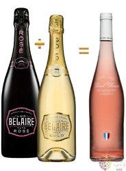 Luc Belaire Rare&Gold set + Zdarma Cloud Chaser Provance rosé  3x0.75 l