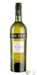 "Sherry de Jerez "" Fino "" Do seco Palomino Fino by Tio Pepe 15% vol.  0.75 l"