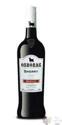 "Sherry de Jerez "" Amontillado "" Do medium dry Osborne 15% vol.  1.00 l"