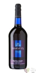 "Sherry de Jerez "" Cream "" Do Sweet & full bodied by Harveys Bristol 17.5% vol.1.00 l"