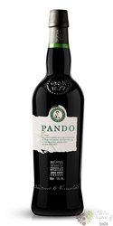 "Sherry de Jerez fino "" Pando "" Do Superior very dry by Williams & Humbert 15% vol.  0.75 l"