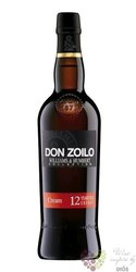 "Sherry de Jerez Cream "" Don Zoilo "" aged 12 years Williams & Hubert 19% vol.  0.75 l"