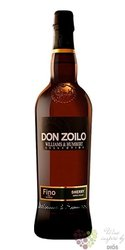 "Sherry de Jerez Fino "" Don Zoilo "" aged 12 years Williams & Hubert 15% vol.  0.75 l"