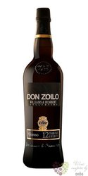 "Sherry de Jerez Oloroso "" Don Zoilo "" aged 12 years Williams & Hubert 19% vol.0.75 l"