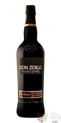 "Sherry de Jerez Pedro Ximénez "" Don Zoilo "" aged 12 years Williams & Hubert 18%vol.  0.75 l"