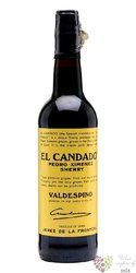 "Sherry de Jerez Pedro Ximenez "" el Candado "" Do Valdespino 15% vol.  0.75 l"