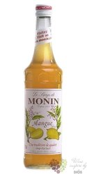 "Monin "" Manque "" French mango flavoured coctail syrup 00% vol.   1.00 l"