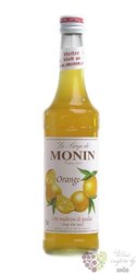 "Monin "" Orange "" French flavoured coctail syrup 00% vol.    0.70 l"