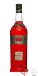 """Giffard """" Framboise """" premium French raspberry syrup 00% vol.   1.00 l"""