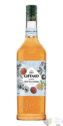 "Giffard "" fruits de la passion "" premium French Maracuja coctail syrup 00% vol.1.00 l"