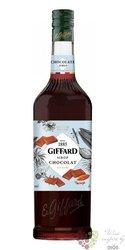 "Giffard "" Chocolat "" premium French coctail syrup 00% vol.  1.00 l"