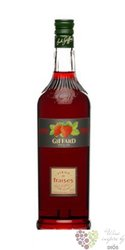 "Giffard "" Strawberry "" premium French coctail syrup 00% vol.     0.70 l"