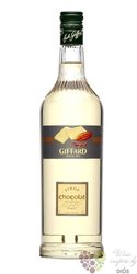 "Giffard "" Choco white  "" premium French coctail syrup 00% vol.     1.00 l"