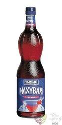 "Fabbri Mixybar "" Grenadine "" Italian mixed berry coctail syrup 00% vol.   1.00 l"