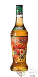 Vedrenne � Peach � French fruits coctail syrup 00% vol. 0.70 l