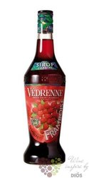 Vedrenne � Framboise �  French fruits coctail syrup 00% vol. 0.70 l