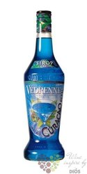 """Vedrenne """" Curacau """" French flavoured coctail syrup 00% vol. 1.00 l"""