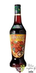 """Vedrenne """" Caramel """" French flavoured coctail syrup 00% vol. 0.70 l"""