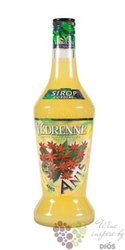 """Vedrenne """" Anise """" French flavoured coctail syrup 00% vol. 0.70 l"""
