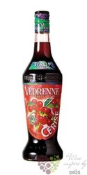 """Vedrenne """" Cherry """"  French fruits coctail syrup 00% vol. 0.70 l"""