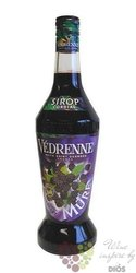 """Vedrenne """" Blackberry """"  French fruits coctail syrup 00% vol. 1.00 l"""