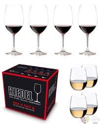 "Riedel Vinum Pay 4 Get 8 "" Cabernet Chardonnay "" dárková sada 8 mi sklenic"