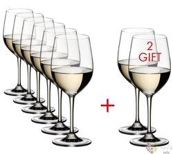 """Riedel Vinum Pay 6 Get 8 """" Chardonnay Viognier """" dárková sada 8 mi sklenic"""