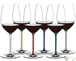 "Riedel Fatto a Mano Colors "" Cabernet Merlot "" sada 6-ti kusů sklenic"