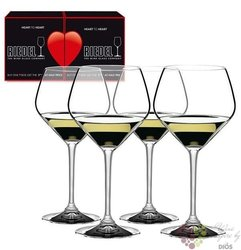 "Riedel Hearth to heart "" Oak Chardonnay "" sada čtyř sklenic"