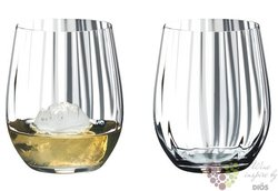 "Riedel Tumbler optical O "" Single malt whisky "" sada dvou sklenic"