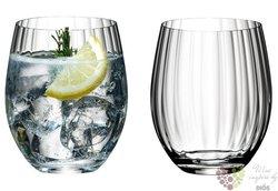 Kolekce Tumbler optical O - sada dvou sklenic Longdrink Riedel