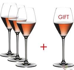 """Riedel Extreme """" Champagne Rosé """" sada 4 sklenic"""