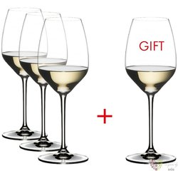 "Riedel Extreme "" Oak Chardonnay "" sada 4 sklenic"