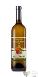 """Muller Thurgau """" Strekov """" 2018 akostné víno Mrva & Stanko  0.75 l"""