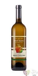 """Rulandské bielé """" Vinodol """" 2014 akostné víno Strekov Mrva & Stanko  0.75 l"""