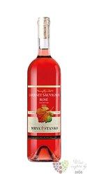 Cabernet Sauvignon rosé 2017 akostné odrodové víno Vinodol Slovakia Mrva & Stanko    0.75 l