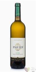 Paves biele barrique 2015 akostné víno Slovakia VPS Pavelka a syn   0.75 l
