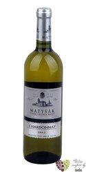 """Chardonnay """"Vinum Galeria Bozen """" 2015 akostné víno Slovakia Matyšák  0.75 l"""