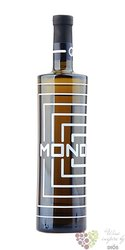 """Furmint """" Mono """" 2015 akostné víno Slovakia Tokaj Macík winery  0.75 l"""