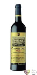 "Rioja tinto gran reserva "" Coto de Imaz "" DOCa 1981 bodegas el Coto de Rioja  0.75 l"