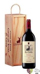 Rioja tinto crianza DOCa 2012 bodegas el Coto de Rioja magnum  1.50 l