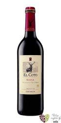 Rioja tinto crianza DOCa 2015 bodegas el Coto de Rioja  0.75 l