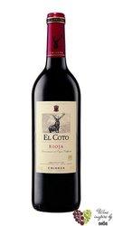 Rioja tinto crianza DOCa 2014 bodegas el Coto de Rioja  0.75 l