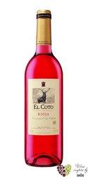 Rioja rosado DOCa 2013 bodegas El Coto de Rioja   0.75 l