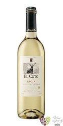 Rioja blanco DOCa 2018 bodegas El Coto de Rioja   0.75 l