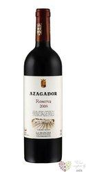 """La Mancha tinto reserva """" Azagador """" Do 2010 bodegas Pago de la Jaraba  0.75 l"""
