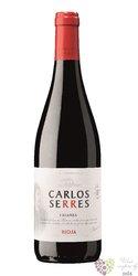 Rioja crianza DOCa bodegas Carlos Serres    0.75 l
