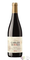 Rioja reserva 2012 DOCa bodegas Carlos Serres    0.75 l