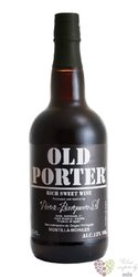 Old Porter red Mortilla Moriles Do rich sweet wine by Peréz Barquero 13% vol.  0.75 l